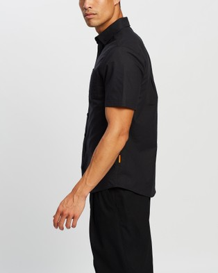 Justin Cassin Malcolm Short Sleeve Shirt - Casual shirts (Black)