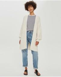 TOPSHOP - Honeycomb Sleeve Cardigan