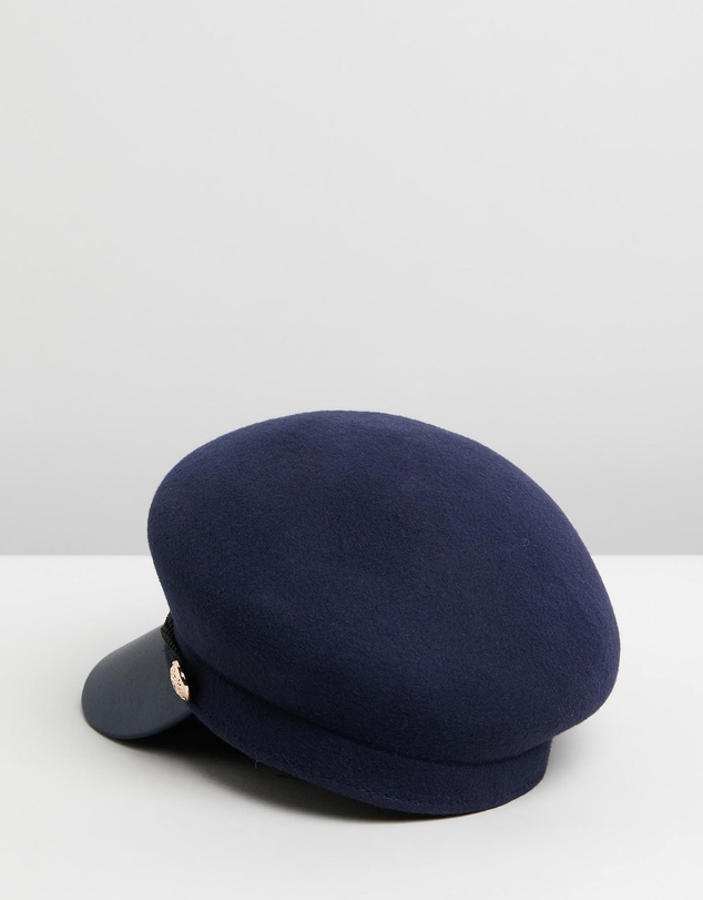 Women Felt Winter Captains Hat