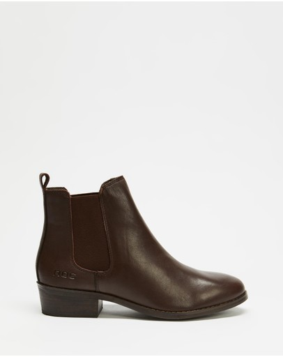 ROC Boots Australia - Vespa Leather Ankle Boots