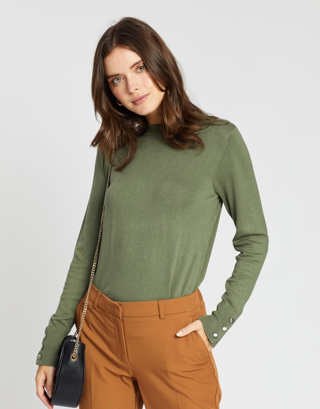DP Petite - High Neck Jumper