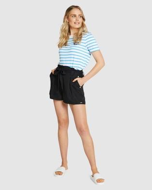 Superdry Desert Paper Bag Shorts - Shorts (Black)