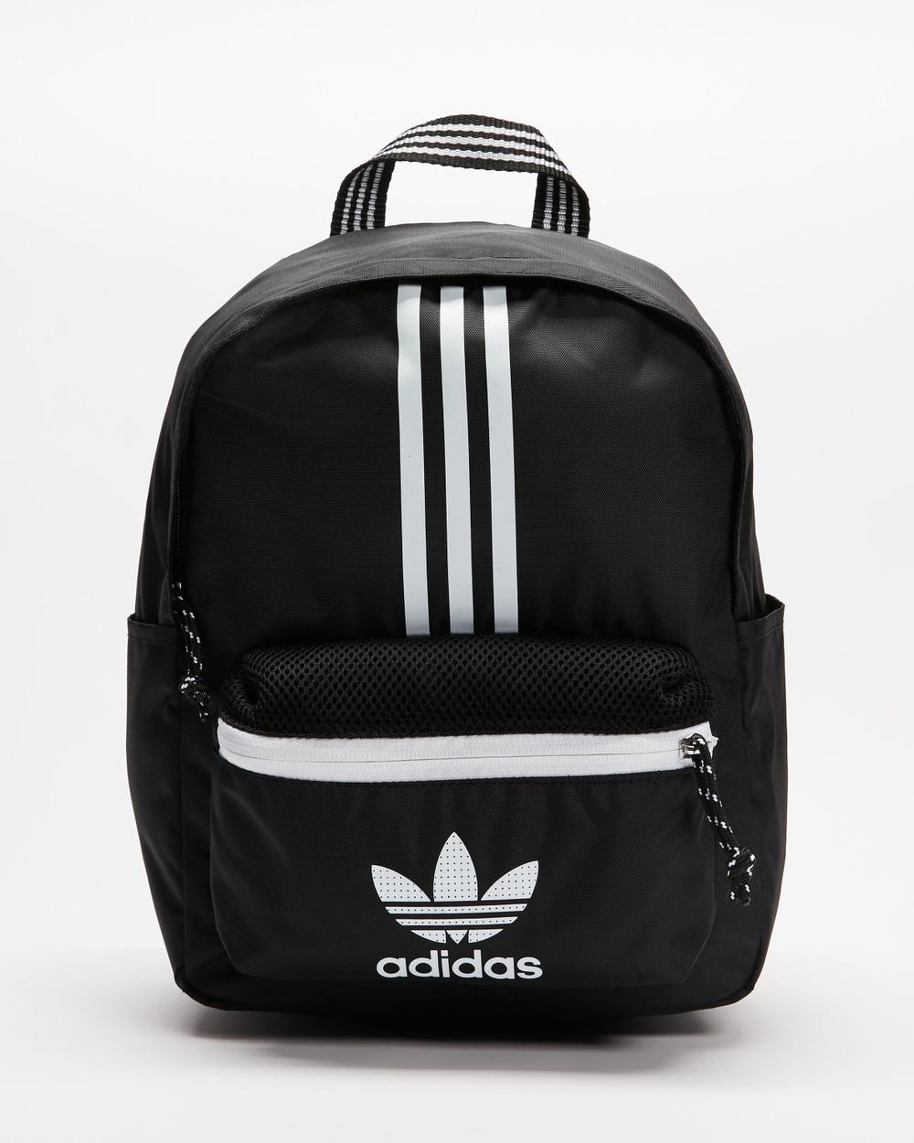 adidas Originals Small Adicolour Classic Backpack Backpacks Back & White