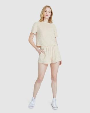 Subtitled Finley Shorts - Shorts (NATURAL)