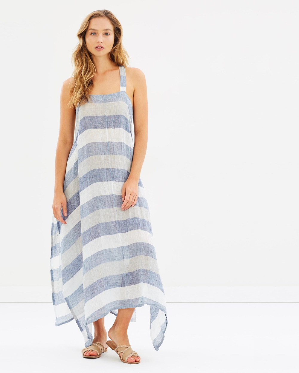 Estilo Emporio Aquilone Dress Dresses Denim Stripe Aquilone Dress
