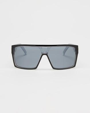 UNIT Command Polarised Sunglasses - Sunglasses (Silver)