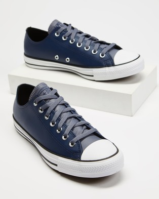 Converse - CHUCK TAYLOR ALL STAR Lifestyle Sneakers (Midnight Navy, Light Carbon and White)