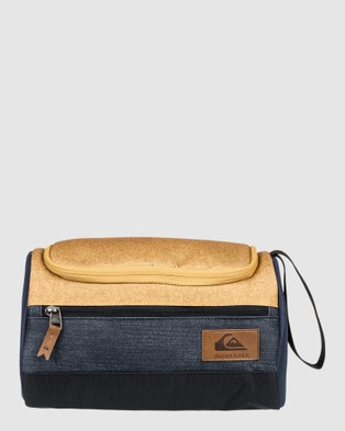 Quiksilver Capsule Wash Bag - Travel and Luggage (HONEY HEATHER)