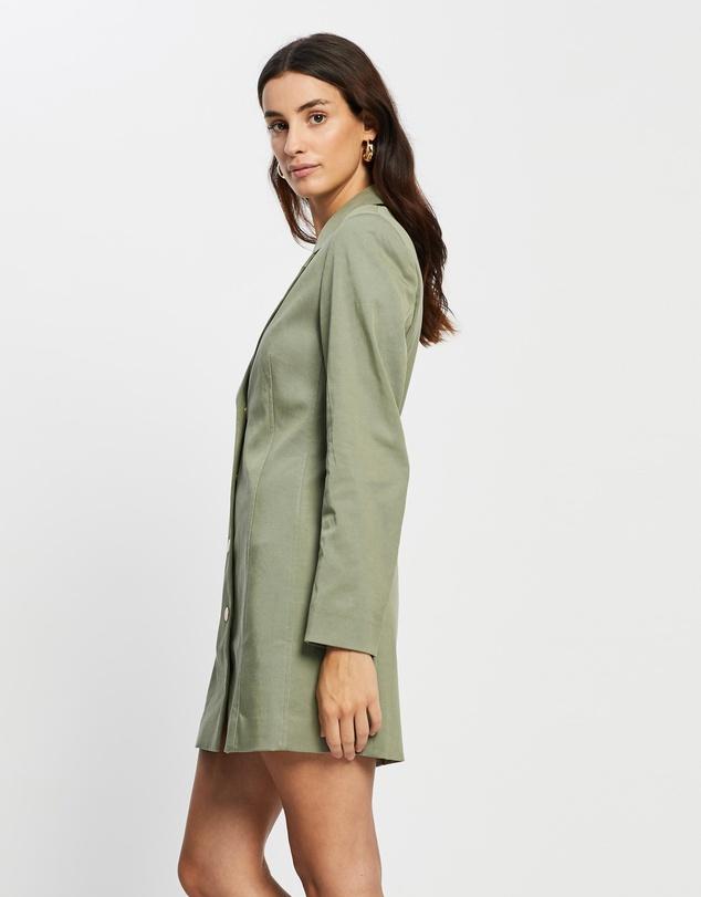 Women Sideways Blazer Dress