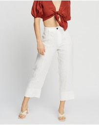 AERE - Relaxed Linen Pants