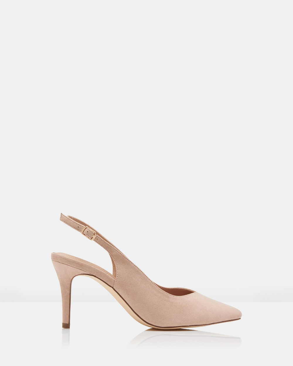 Forever New Jac Slingback Court Shoes Heels Nude Jac Slingback Court Shoes