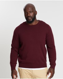 Staple Superior Big & Tall - Staple Big & Tall Crew Neck Knit