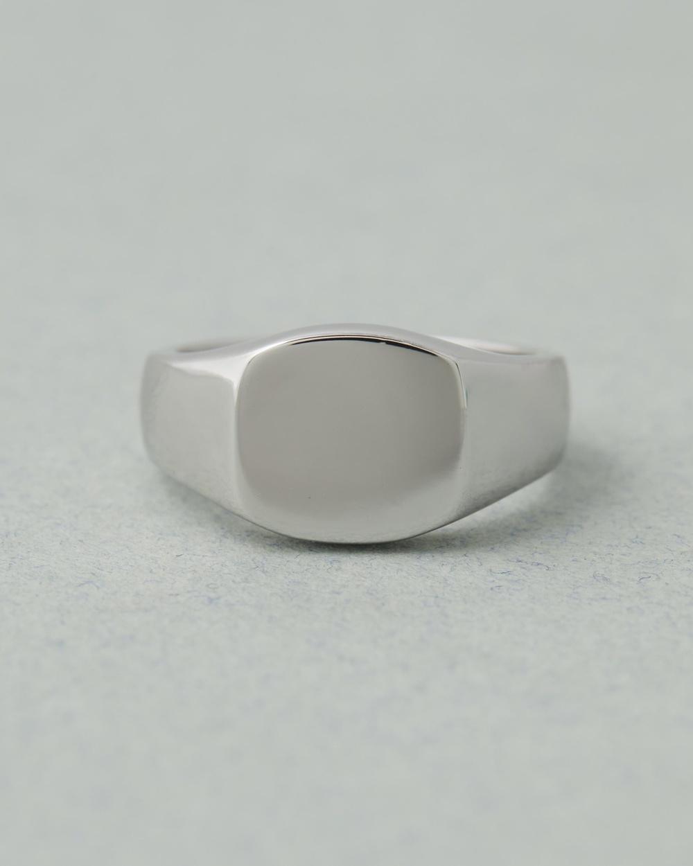 Serge DeNimes Signet Ring Jewellery Silver