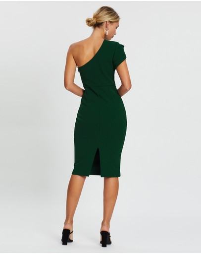 Mossman Never Too Late Dress Emerald