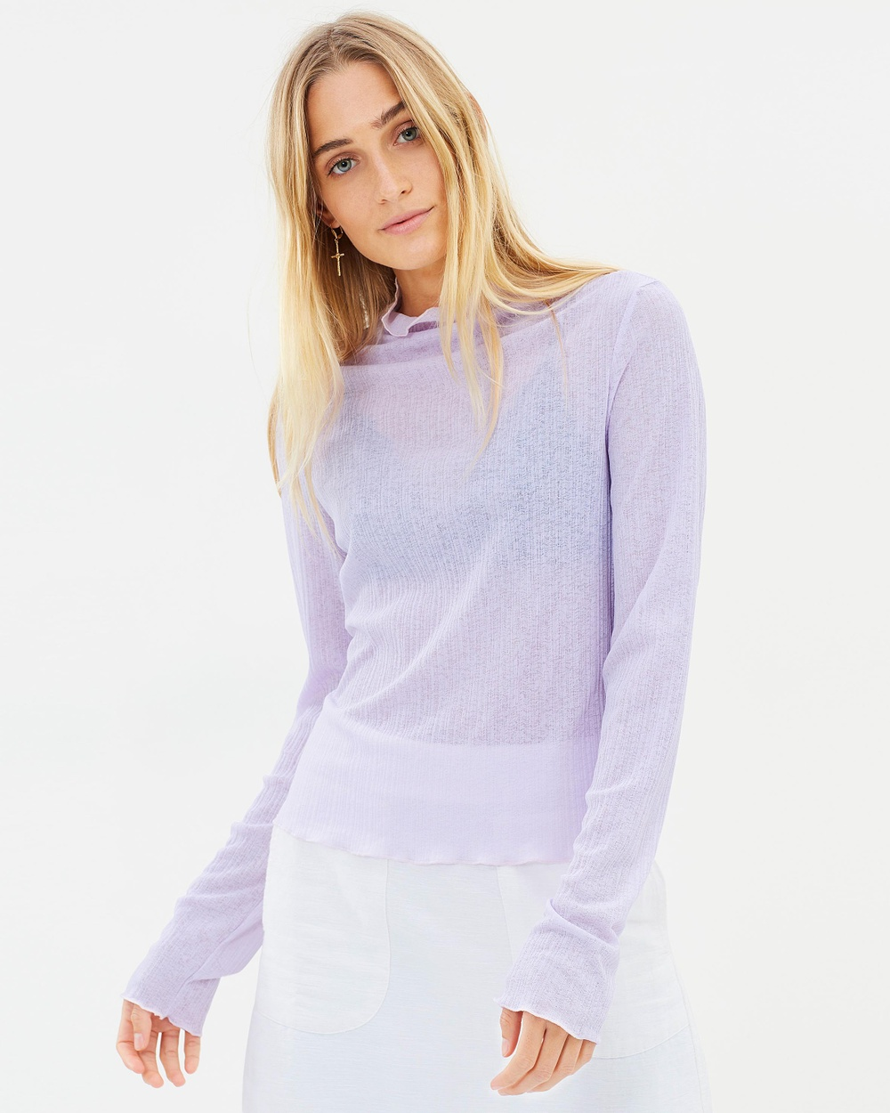 The East Order Effie Top Tops Lilac Effie Top
