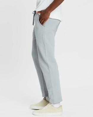 AERE Organic Joggers   Unisex - Sweatpants (Dusty Blue)