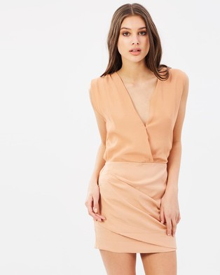 S/W/F – Lyla Dress – Dresses (Burnt Orange)