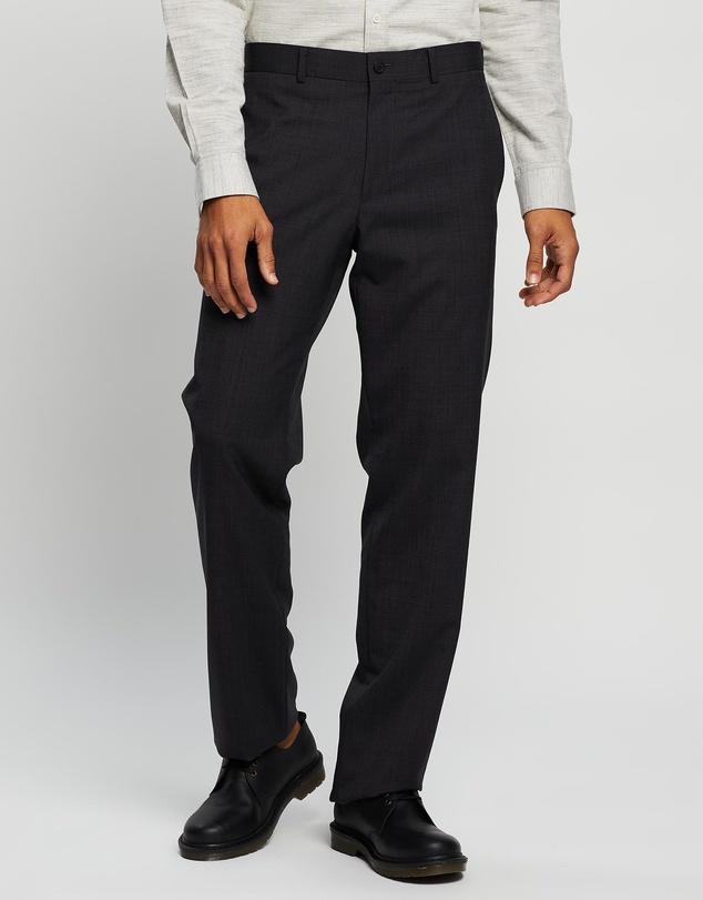 Men Straight Leg Trousers