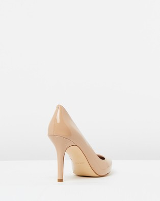 Nine West Martina - All Pumps (Barely Nude Patent)