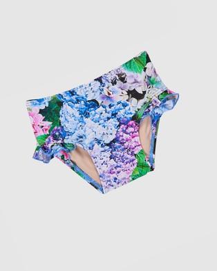 Aqua Blu Kids Blossom Flutter Tankini Set   Babies - Bikini Set (Blossom)