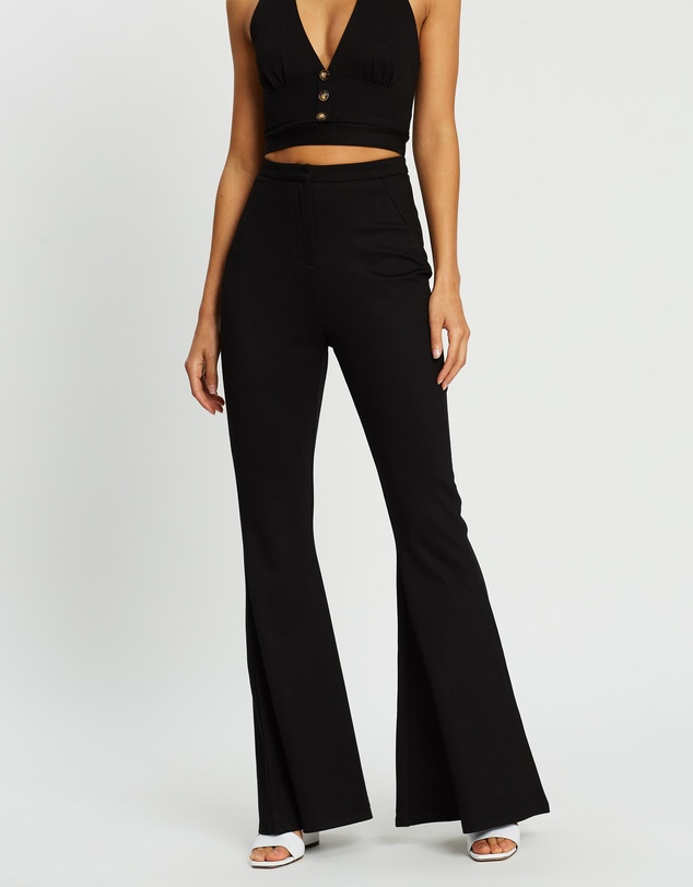 Influencer Flare Pants by Dazie