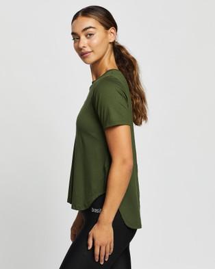Brasilfit Rosario T Shirt - Short Sleeve T-Shirts (Light Khaki)