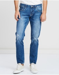 Scotch & Soda - Tye The Clean Dream Slim Carrot Fit Jeans