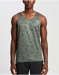New Balance - Printed Accelerate Singlet