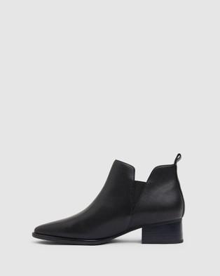 Jane Debster Demi - Mid-low heels (BLACK)