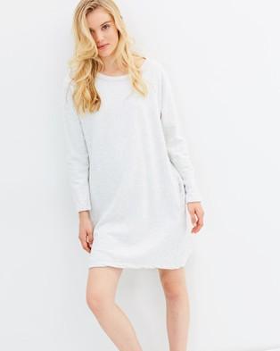 Primness – Jersey Jumper Dress – Dresses (Grey)