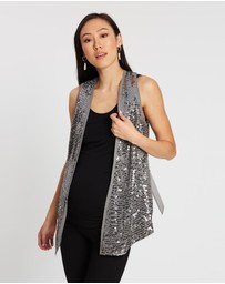 Isabella Oliver - The Sequin Collar Waistcoat