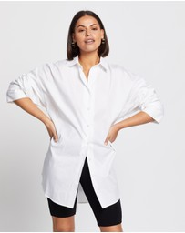 AERE - Organic Cotton Oversized Shirt