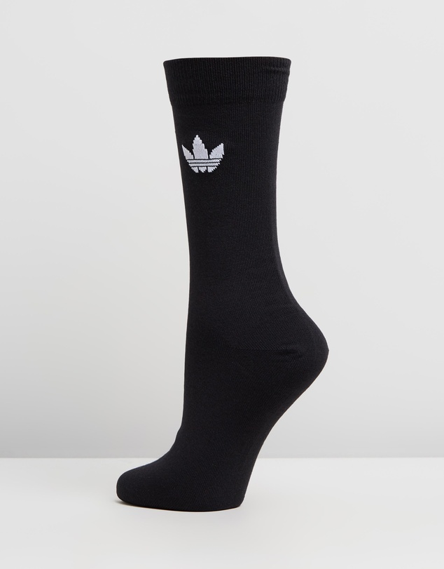 adidas Originals - Thin Trefoil Crew Socks