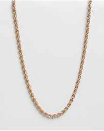 Wild For The Weekend - Twisted Rope Chain Necklace 5mm
