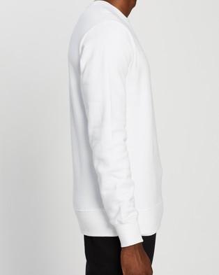 AERE Organic Cotton Crew Sweat - Sweats (White)