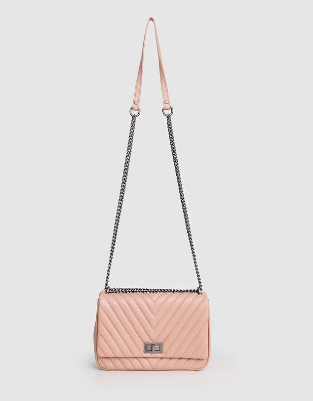Women Belong To You Quilted Cross-Body Bag