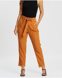 Miss Selfridge - Paper-Bag Cuffed Trousers