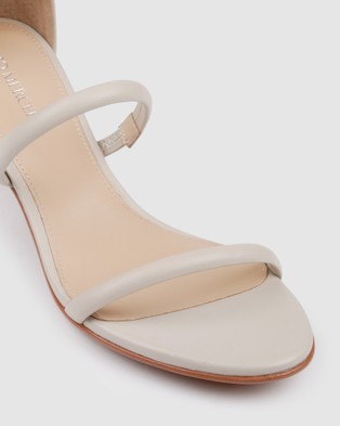 Jo Mercer Roka Low Heel Sandals - Sandals (Bone)