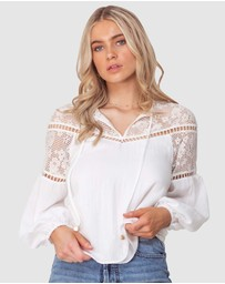 Three of Something - Summer Picnic Blouse