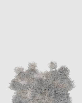 Amigos De Hoy Fluffelbuster Throw - Home (Grey)