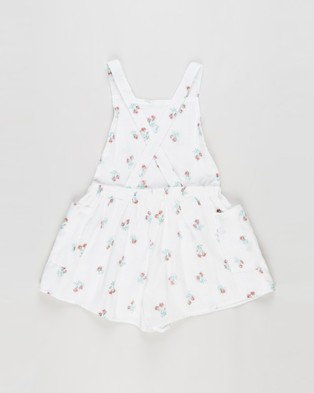 Cotton On Kids Tilly Playsuit   Kids - Jumpsuits & Playsuits (Vanilla & Posey Floral)