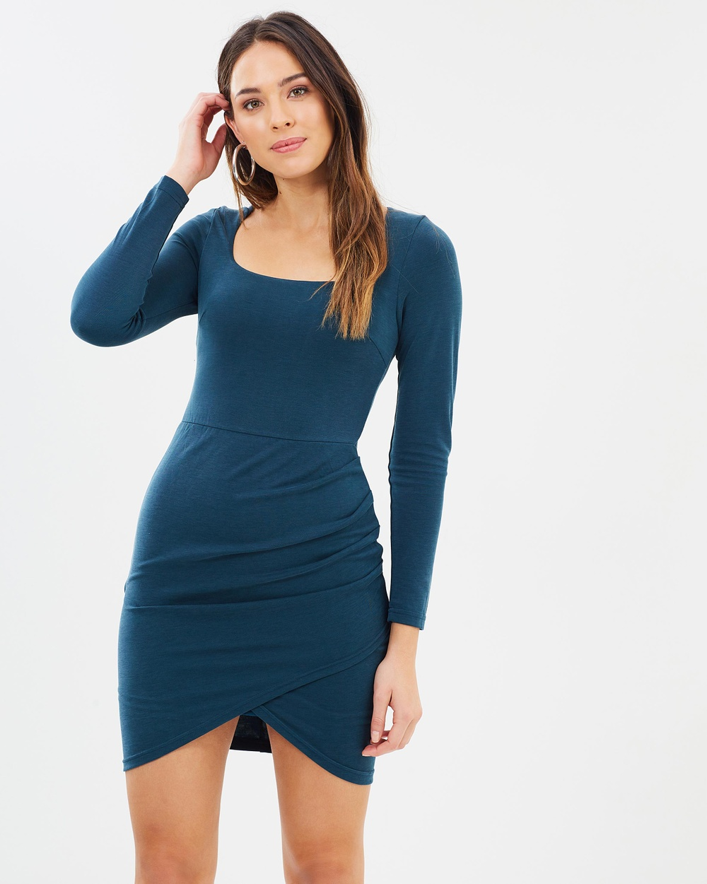 Fresh Soul Chorus Dress Bodycon Dresses Modal Chorus Dress