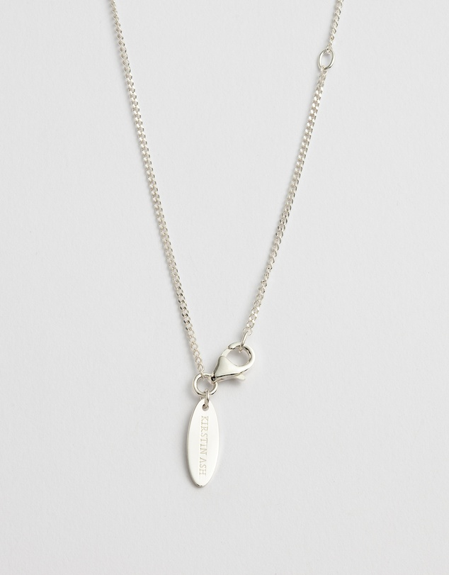 Women Initial S Necklace