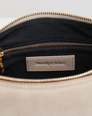 See By Chlo?? Joan Small Hobo Shoulder Bag - Handbags (Motty Grey)