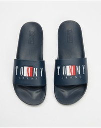 Tommy Hilfiger - Logo Poolslides - Men's