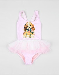 Rock Your Kid - Go Fetch Tulle One-Piece - Kids