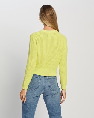 Rolla's Sailor Sweater - Jumpers & Cardigans (Citron)