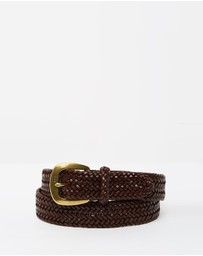 "1 1/4"" Derby Braid Belt"