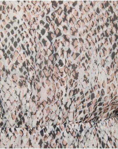 Oxford Olivia Animal Print Dress Pink