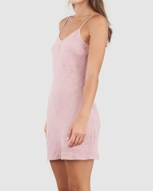 Amelius Grace Linen Mini Dress - All gift sets (Dusty Rose)